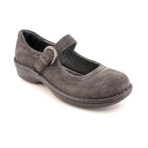 BORN Susy gray suede Mary Jane shoe 6.5 M
